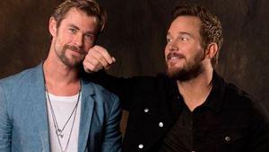 Chris Pratt y Chris Hemsworth son el
