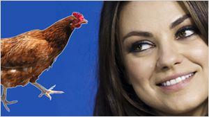 Mila Kunis, demandada por el supuesto robo de un pollo a una amiga de su infancia