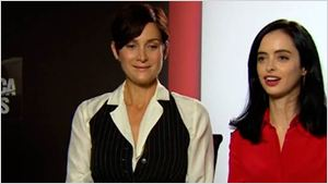 "Krysten Ritter y Carrie-Anne Moss: ""Jessica Jones' es una serie como nunca antes hemos visto"""