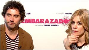 'Embarazados': Entrevistamos en vídeo a sus protagonistas Paco León y Alexandra Jiménez