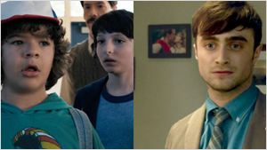 Los niños de 'Stranger Things' descubren que Daniel Radcliffe es su fan y esta es su reacción