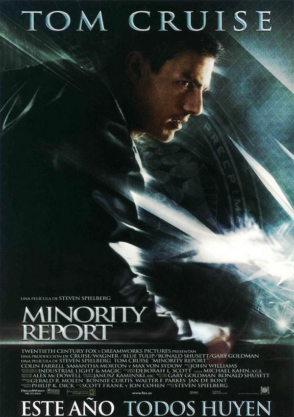 Reparto Minority Report Equipo T 233 Cnico Producci 243 N Y