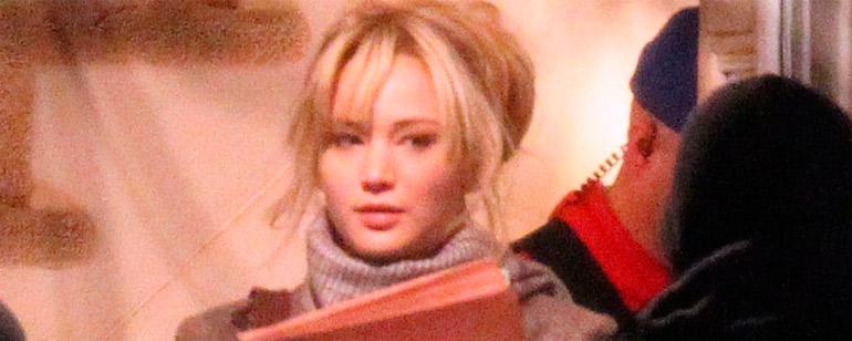 Primeras fotos de Jennifer Lawrence en el rodaje de 'Joy' de David O. Russell