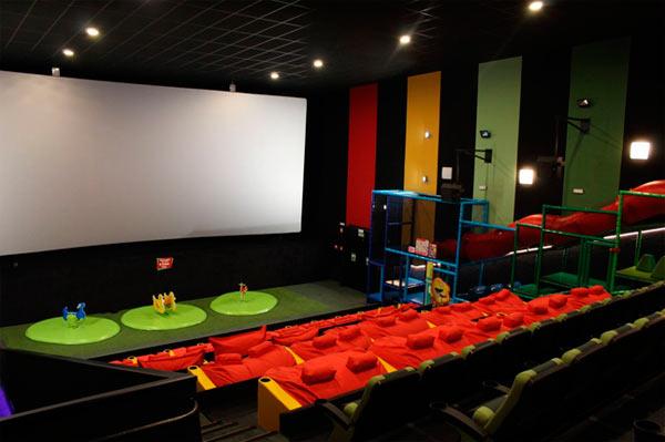Madrid ya cuenta con la primera sala de cine para ni os de for Sala junior islazul