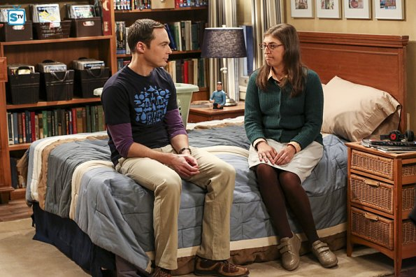 39 the big bang theory 39 primeras imag nes de sheldon y amy for Decoracion piso big bang theory