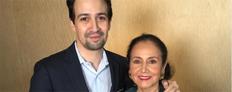 Lin-Manuel Miranda ('Hamilton') tuitea en vivo desde el almuerzo de los Oscar y sus mensajes son impagables