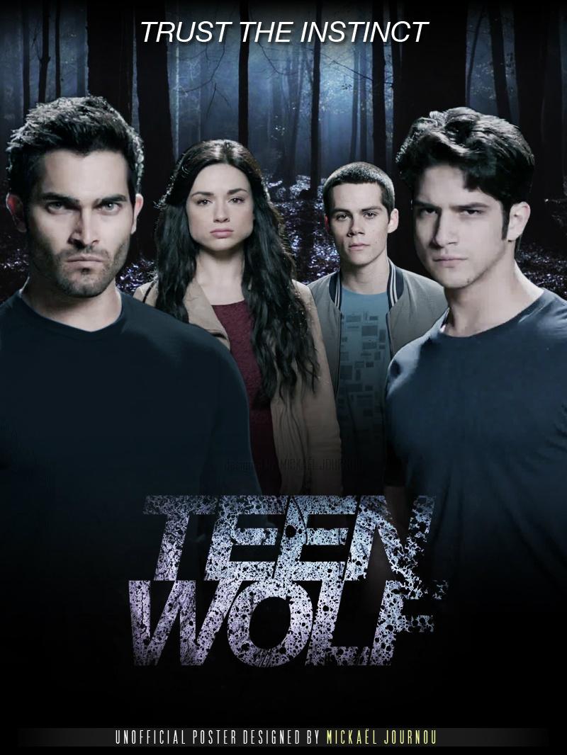 Resultado de imagen de portada teen wolf