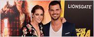 Kristen Stewart y Taylor Lautner, reencuentro 'Crepúsculo' en la 'premiere' de 'American Ultra'
