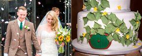 'El señor de los anillos': Esta pareja celebra una boda inspirada en la Tierra Media