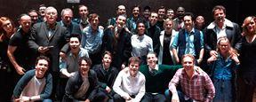 'Harry Potter y el legado maldito': Margot Robbie y Ben Affleck posan con el reparto de la obra teatral