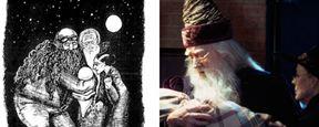 'Harry Potter': Compara los bocetos de J.K. Rowling para 'La piedra filosofal' con las imágenes de las películas