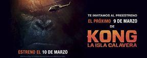 ¡SORTEAMOS ENTRADAS PARA EL PREESTRENO DE 'KONG: LA ISLA CALAVERA' EN MADRID, BACERLONA Y VALENCIA!