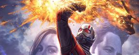 Comic Con 2017: Giant-Man y la Avispa, protagonistas del nuevo 'concept art' de 'Ant-Man and the Wasp'