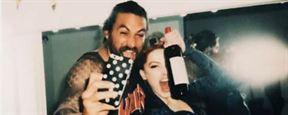 'Aquaman': James Wan y Amber Heard celebran con fotos el fin del rodaje