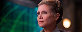 'Star Wars': una artista rinde tributo a Carrie Fisher convirtiéndola en la reina de una estampa