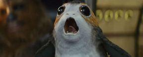 'Star Wars: Los últimos Jedi': Chewbacca golpea a un porg en el nuevo 'spot'