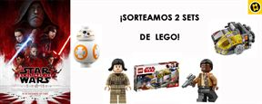 ¡SORTEAMOS 2 SETS DE LEGO 'STAR WARS: LOS ÚLTIMOS JEDI'!