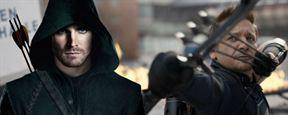 'Vengadores: Infinity War': Stephen Amell ('Arrow') bromea con Ojo de Halcón