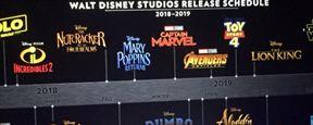 Disney presenta su calendario de estrenos para los próximos años incluyendo animación, Marvel y 'Star Wars'