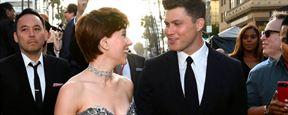 Scarlett Johansson y su novio pasearon por la alfombra roja de 'Vengadores: Infinity War' por primera vez como pareja