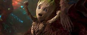 'Vengadores: Infinity War': El divertido saludo entre Groot y Capitán América ya está online