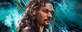 'Aquaman': Jason Momoa se sumerge en el mar para anunciar el primer 'tráiler'