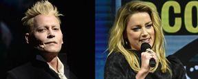 Johnny Depp y Amber Heard estuvieron muy cerca de encontrarse en la San Diego Comic-Con