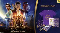 ¡SORTEAMOS 4 PACKS DE 'ALADDIN'!