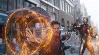 La escena de Tony Stark con la Capa de Levitación y Doctor Strange con la armadura de Iron Man que no vimos en 'Vengadores: Infinity War'