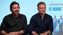 """Christian Bale ('Le Mans '66'): """"Es un deporte donde te asomas al abismo y ese abismo es la muerte"""""""