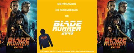 ¡SORTEAMOS 20 SUDADERAS DE 'BLADE RUNNER 2049