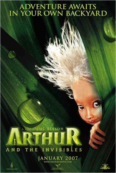 Arthur y los Minimoys : Cartel Luc Besson