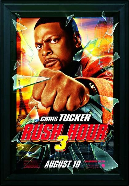 Hora Punta 3 : cartel Brett Ratner, Chris Tucker
