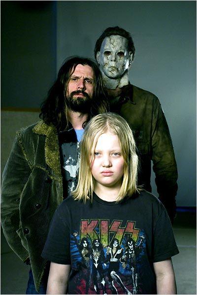 Halloween el origen  Foto Daeg Faerch, Rob Zombie, Tyler Mane