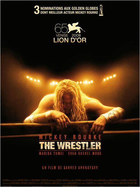 El luchador : Cartel Darren Aronofsky, Mickey Rourke