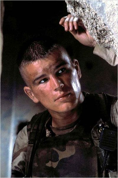 Black Hawk derribado : foto Josh Hartnett, Ridley Scott