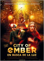 City of Ember. En busca de la luz : cartel