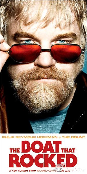 Radio encubierta : cartel Philip Seymour Hoffman, Richard Curtis