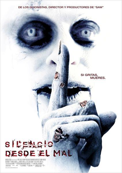 Silencio desde el mal : Cartel