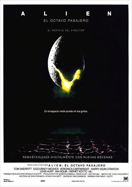 Alien, el octavo pasajero : Cartel