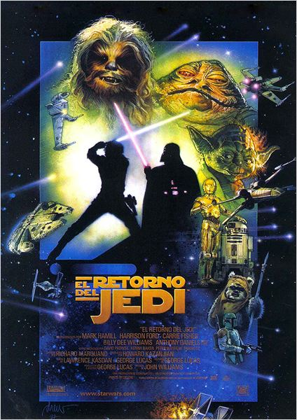 Star Wars: Episodio VI - El retorno del Jedi : cartel