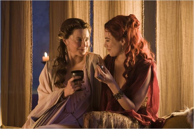 Jaime Murray Spartacu Lucy Lawless