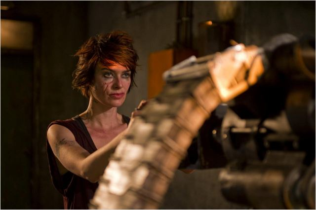 Dredd : foto Lena Headey
