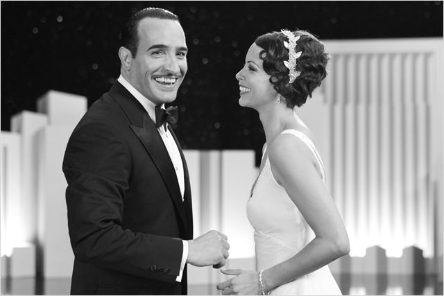The Artist : foto B&#233;r&#233;nice Bejo, Jean Dujardin, Michel Hazanavicius