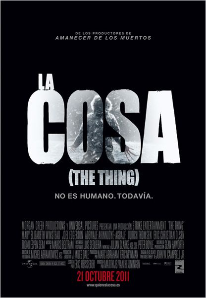 La cosa (The Thing) : cartel