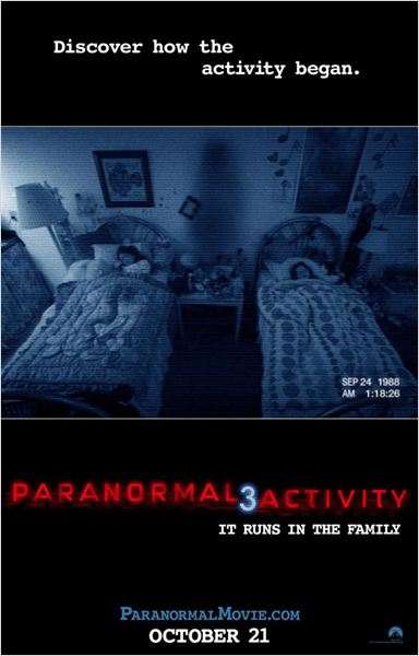 Paranormal Activity 3 : cartel