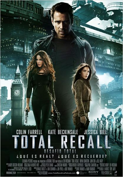 Total Recall (Desaf&#237;o total) : cartel
