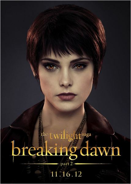 La saga Crepúsculo: Amanecer - Parte 2 : cartel Ashley Greene