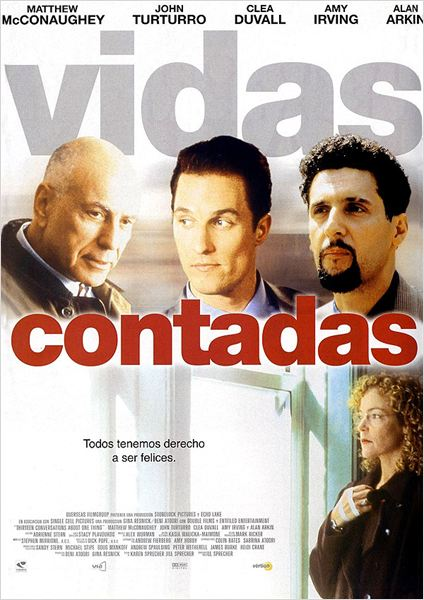 Vidas contadas : cartel