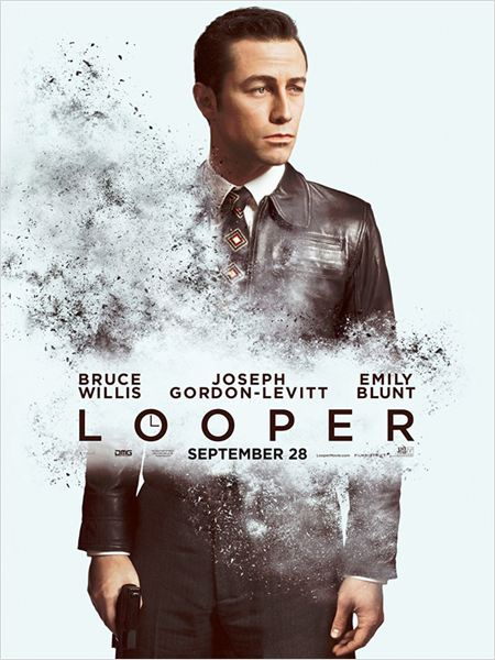 Looper : cartel Joseph Gordon-Levitt